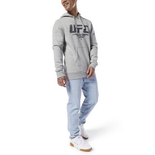 UFC Fan Gear Hoodie Medium Grey Heather DU4577