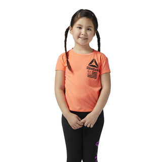 Girl's Training Tee Guava Punch BQ5069