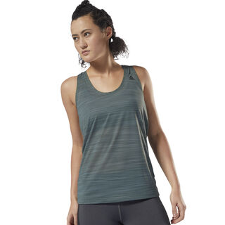 Workout Ready ACTIVChill Tank Chalk Green D95088
