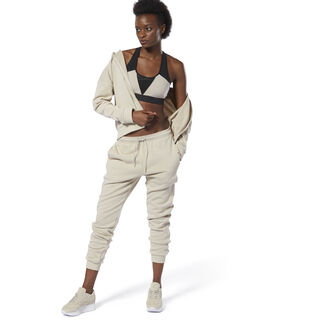Training Supply Knitted Tracksuit Light Sand DU4909