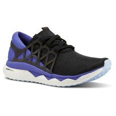 bc3ee358c496 Reebok - Reebok Floatride Run Flexweave Black   PURPLE   WHITE   BLUE CN5240