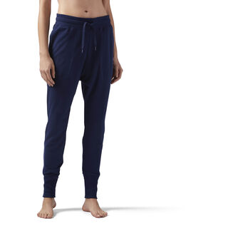 High Waisted cotton Jogger Collegiate Navy CE2289