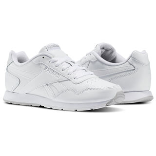 Reebok Royal Glide White/Steel/Reebok Royal V53956