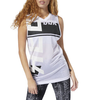 WOR Meet You There Basketball Tank Top White DP6671