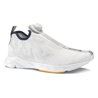 Reebok Pump Supreme Jacquard Tape Spirit White/Cloud Grey/Collgt Navy/Marigold CN6269