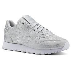 44033cb164a4 Reebok - Classic Leather Matte Shine-Met Silver Skull Grey White CN2969