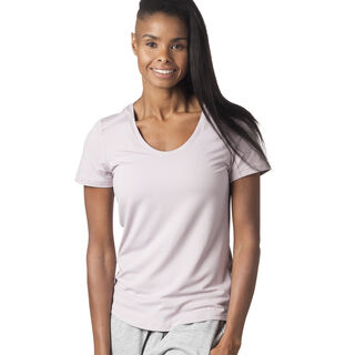 Workout Ready Speedwick Tee Lavender Luck D95075