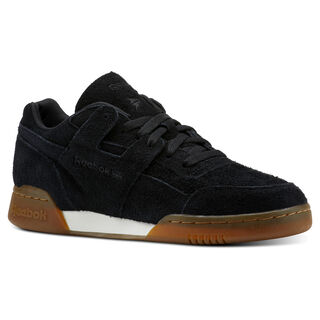 Workout Plus MU Suede-Black/Gum CN3756