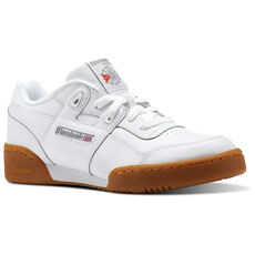 a44308b3b11c Reebok - Workout Plus - Grade School White   Carbon   Classic Red   Reebok  Royal. 3 colors