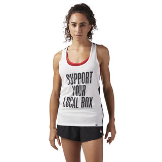 Reebok CrossFit Local Box Tank Chalk CF5739
