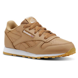 Classic Leather Gum-Soft Camel/White CN5611