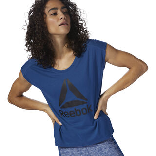 Workout Ready Supremium 2.0 Tee Bunker Blue D95466