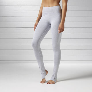 Studio Favourites Stirrup Legging Medium Grey Heather B45991
