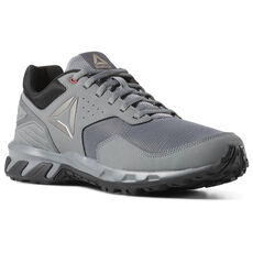 ec061d60fec8 Reebok - Ridgerider Trail 4 True Grey   Black   Alloypewter   Red CN6262