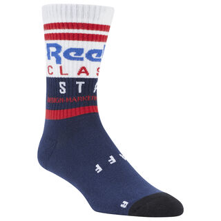 Classics Staff Crew Sock Collegiate Navy DU7493