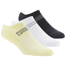Reebok - LES MILLS® Unisex Sock 3-Pack White   Black   Filtered Yellow 89e748cec