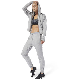 Training Supply Knitted Tracksuit Medium Grey Heather D95554