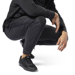 Training Essentials Microfleece Joggers Black CY4858
