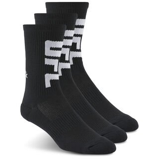 UFC Fan Crew Sock Black/Black/Black AZ8784