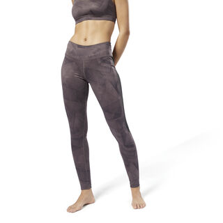 Workout Ready Printed Tights Almost Grey D95050