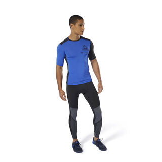 Training Graphic Compression Tee Crushed Cobalt DU3955