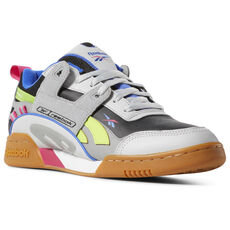 Reebok - Workout Plus ATI 90s Skull Grey   Blk   Pink   Lime DV5497 7db14f49c