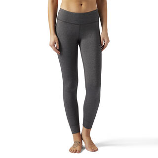 Reebok Lux Leggings Dark Grey Heather BP7233