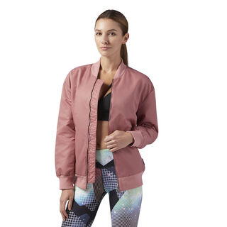 Studio Favourites Bomber Jacket Sandy Rose BR8983