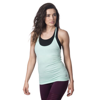 Recycled Racerback Tank Blue Lagoon CF8701