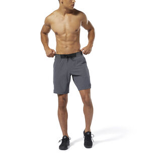 Training Epic Knit Waistband Shorts Dark Grey Heather DP6570