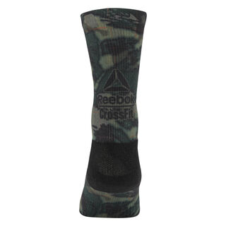 Reebok CrossFit Graphic Socks Army Green CD7295