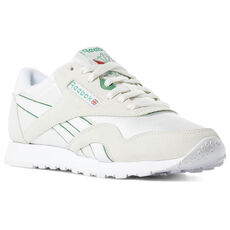 89f649deea5 Reebok - Classic Nylon Archive Chalk   Glen Green   White DV3925
