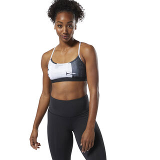 Reebok CrossFit Skinny Bra - Digital White D94931