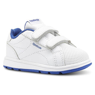 Reebok Royal Complete Clean - Infant & Toddler White/Collegiate Royal CN4825