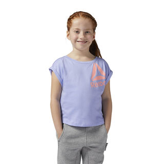 Girls Essentials Tee Lilac Glow BR7214