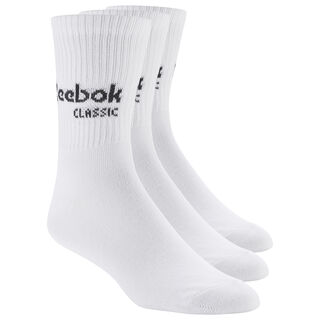 Classics Core Crew Socks Three Pack White/White/White CZ8013