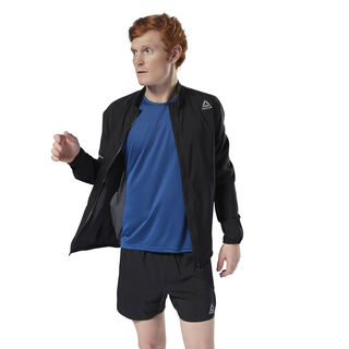 Running Woven Jacket Black CY4705