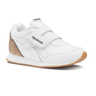 Reebok Royal Classic Jogger 2.0 KC - Toddler White/Dark Brown/Tan DV6945