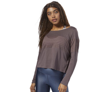 Mesh Long Sleeve Layer Almost Grey CZ9468