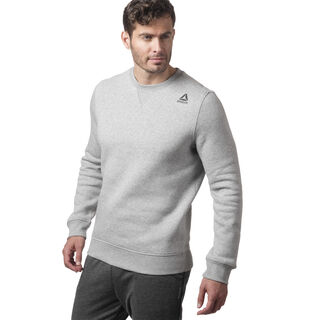 Elements Fleece Crew Medium Grey Heather CY4859