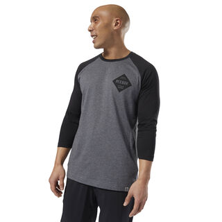 GS Reebok Raglan Dark Grey Heather DH3760