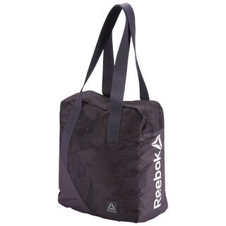 Graphic Print Tote Bag Smoky Volcano CE2720