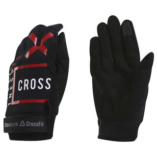 Reebok CrossFit Mens Training Gloves Black CZ9889