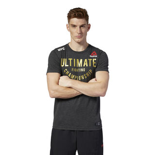 UFC Fight Night Walkout Jersey Black/UFC Gold DM5167