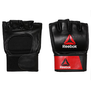 Combat Leather MMA Glove - XL Black/Red BH7251