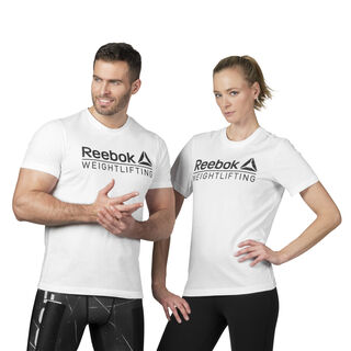 Reebok Weightlifting Tee White D93958