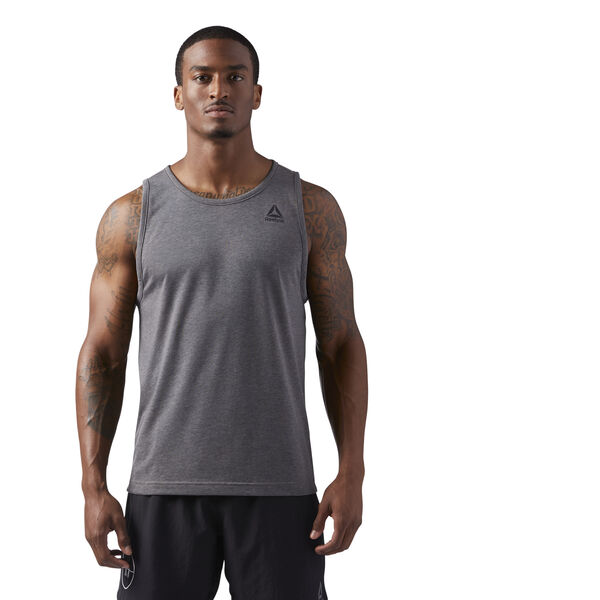 LES MILLS Dual Blend Tank Grey CD6193