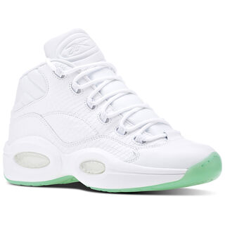 Reebok Question Mid EE White/Mint Glow CM9417