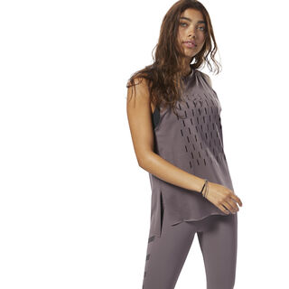 Classic Muscle Tank Almost Grey DN0532