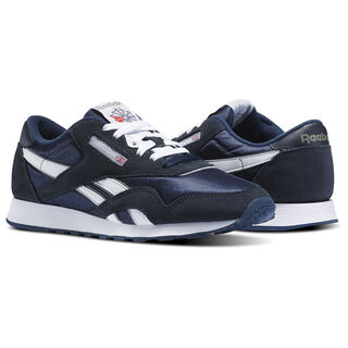 Classic Nylon Team Navy/Platinum 39749